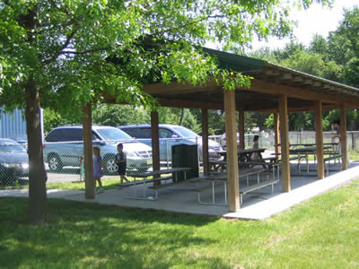 Pavilion for Summer Picnics and Special Activities