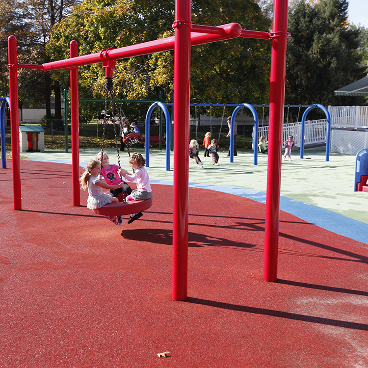 Tire Swings on Preschool and PreK Classes