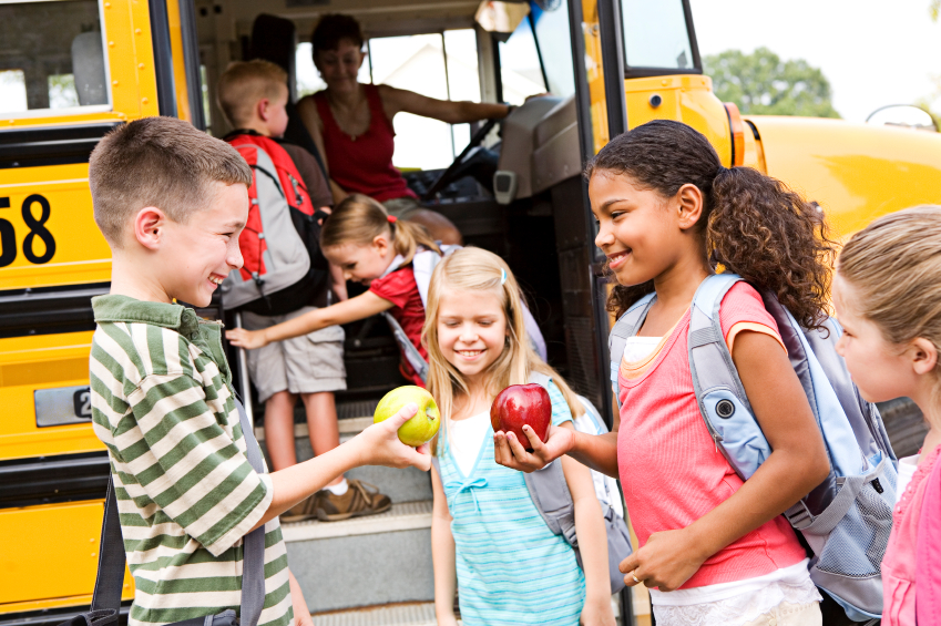 Bus safety at Toddlers 'N Tots