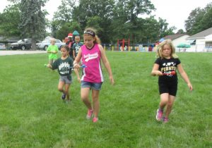 Summer Camp Egg Relay